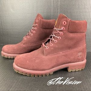 """Timberland Boots 6"""" Limited Autumn Leaf Mens Sz-9"""